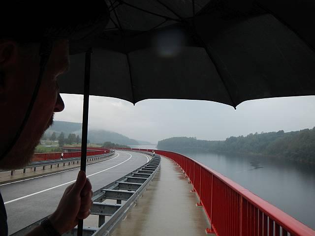 Regen Rauschenbachtalsperre