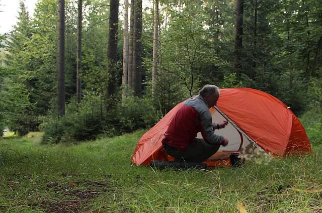 Lager im Sebnitzer Wald