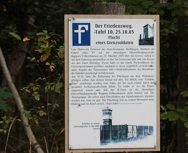 ehemalige DDR Grenze