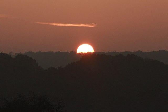 letzter Sonnenaufgang bei Stein