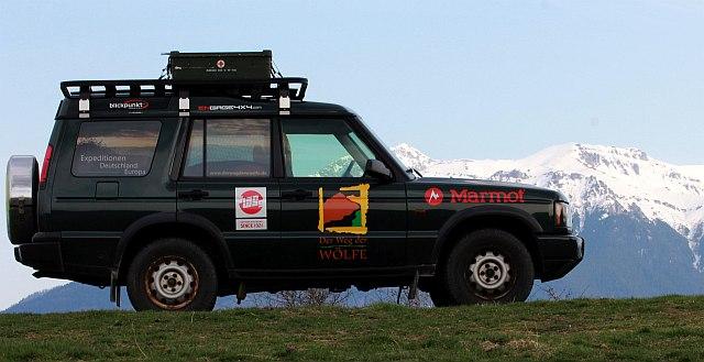 Mein Projekt Land Rover