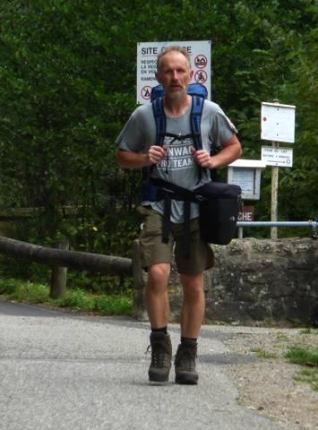 die letzten Meter der Expedition