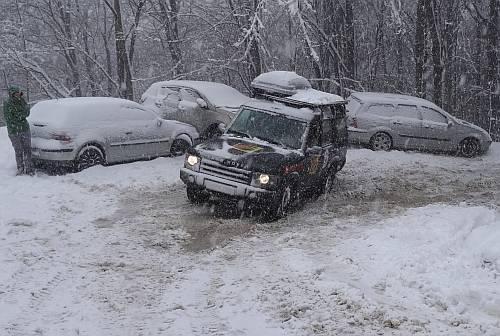 Schneeschmierseife Ende